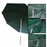 "MDI 45"" (2.2m) Deluxe Tri-Tilt 100% Waterproof PVC Coating Umbrella +Spike & Case"