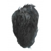 MDI Fly Tyers Quality Dyed Black Cock Cape