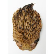 MDI Fly Tyers Quality Natural Badger Game Cock Cape