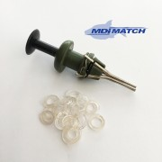 MDI Match Bait Pellet Bander with 25 Bands