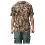 Bug Repellent Short Sleeve Camo T-Shirt