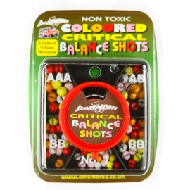 Dinsmores Non Toxic Syndicate Coloured Critical Balance Shot Sizes AAA, AB,  BB & No1