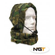 Fully Fleeced Camo Snood For Carp, Specimen Fishing & ideal for Shooting, Sking
