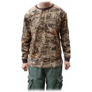 BugOff Repellent Camo Long Sleeve T-Shirt