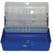 MDI Clear Lid 2 Tray Cantilever Box