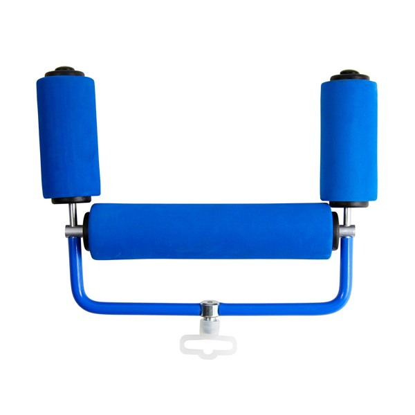 "Dinsmores Match Fishing Blue EVA Pole Roller with End Upright Rollers 200mm (8"")"