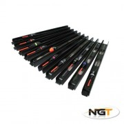 NGT 10 Assorted Ready Made Barbless Pole Float Rigs Carp & Specimen Fishing