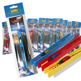 LINEAEFFE 14 Assorted Ready Made Barbless Pole Float Rigs Match Carp Fishing