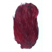 MDI Fly Tyers Quality Dyed Claret Cock Cape