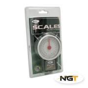 NGT Fishing Compact  Dial Scales 22kg & 50lb with 1m Tape