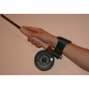 MDI Game Leather Wrist Rod Support with Velcro