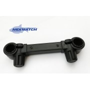 "MDI Match Fishing Universal Accessory Arm 23cm (9"") Fits Round 30 & 25mm also Square 20mm"