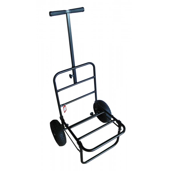 MDI Match Pneumatic Compact Fold-Away Trolley for Fishing Seatboxes (Folds Flat)