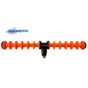 MDI Match 12 Position Feeder Rod Rest Orange - Designed for All Tip Work