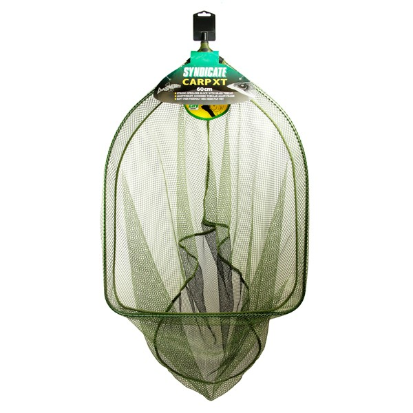 Dinsmores Syndicate Carp XT Rigid Super Soft Green Mesh Landing Net 26in (66cm)