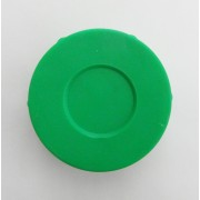 "MDI Protective Plastic Rod Tubes 2.5"" Spare End Cap Colour Green"
