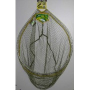 Dinsmores Rigid Oval Easi-Flo Super Soft Green Mesh Landing Net 26in