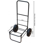 MDI Folding Fishing Trolley with Pnuematic Tyres